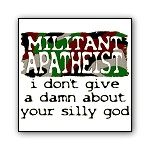 Apathetic Atheist: I Don't Give A Damn About God