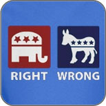 Anti Democrat: Right vs. Wrong