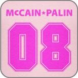 Pink McCain-Palin 08