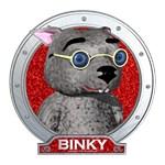 Binky's Red Portrait