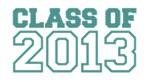 Class of 2013 - teal