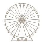 Retro Ferris Wheel Silhouette