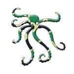 Octopus - retro