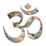 Om symbol swirl