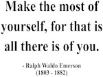 Ralph Waldo Emerson 19