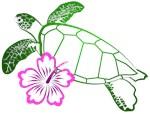 Sea Turtle Lineart