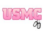 USMC w/ dog tags