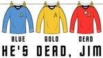 Star Trek Laundry - He's Dead Jim