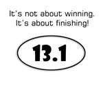 Inspiration for the half-marathoner