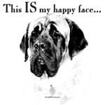 Mastiff Happy Face