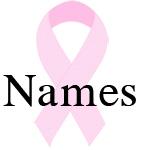 Pink ribbon names