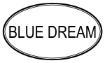 BLUE DREAM (oval)