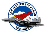 123rd Fighter Squadron F-15 in 3-D