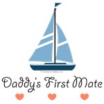 Daddy's 1st Mate Sailboat Sailing T-shirt Gifts