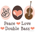 Double Bass Player Contrabass T-shirt Gifts