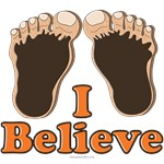 I Believe Bigfoot Tee T shirt Gifts