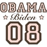 Obama Biden 08 2008 T shirt Gifts