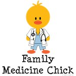 Family Medicine Chick T shirt Primary Care Doc Gi