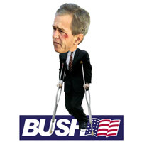 IS BUSH LIMPING?