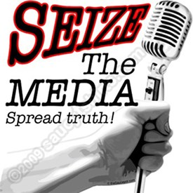 Seize the Media T-Shirts and Gear