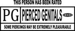 Pierced Genitals