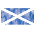 Aged Flag of Scotland