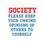 Societies Opinion