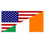 Irish American Flag