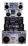 Old School Boomboxes