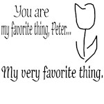 Fringe Quote: You Are My Favorite Thing Peter