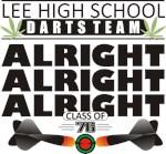 Lee High School Darts Team