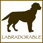Labradorable (chocolate lab)