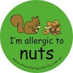 Nuts squirrel green