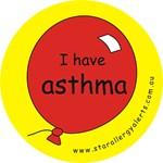 I have asthma-medical alert