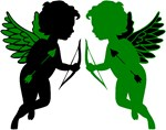 Cupids Black & Green
