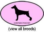 Pink Oval Dog Breeds