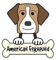 American Foxhound Cartoon T-Shirts and Gifts