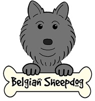 Belgian Sheepdog Cartoon T-Shirts and Gifts