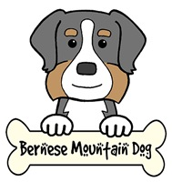 Bernese Mountain Dog Cartoon T-Shirts and Gifts