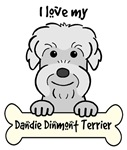 Pepper Dandie Dinmont Terrier Cartoon