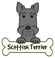 Scottish Terrier Cartoon T-Shirts and Gifts