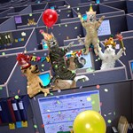 Pet Office Party