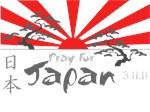 Pray for Japan Rising Sun