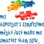 Asperger's makes me smarter