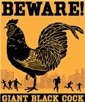 Beware! Giant Black Cock!