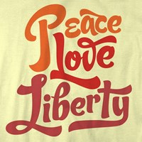 Peace Love Liberty