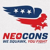 Neocon Chickenhawk Logo