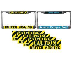 Bumper Stickers & Plate Frames