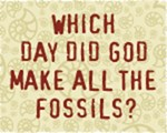 Which Day Did God Make All The Fossils?