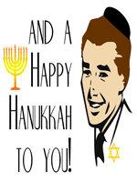 Retro Happy Hanukkah Man